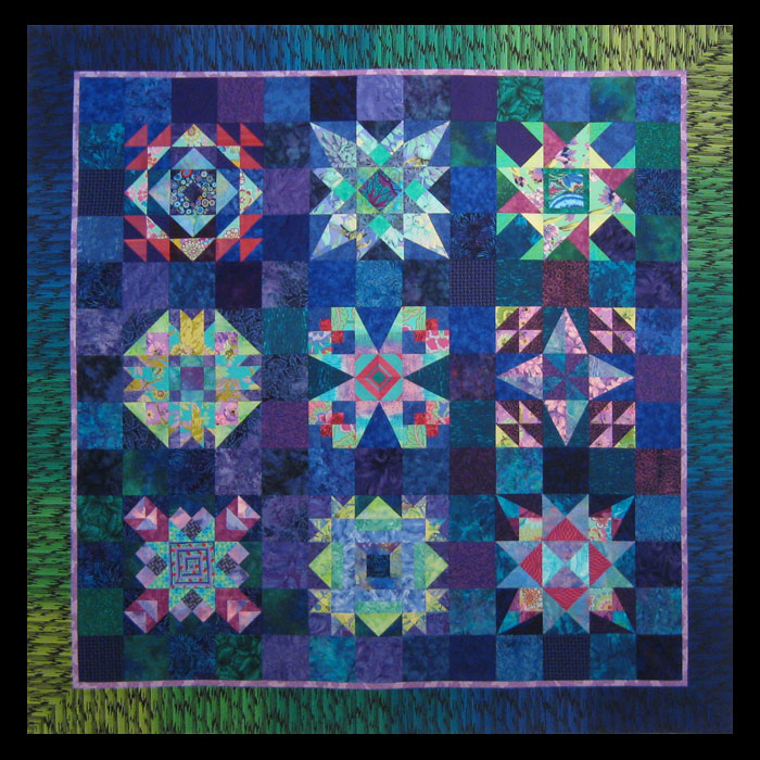 Jambalaya Sample Quilt